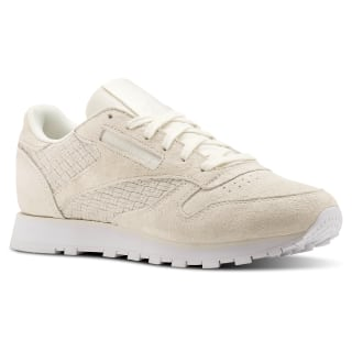 Classic Leather Woven EMB Beige / Chalk / White BT0006