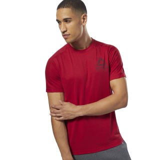 Speedwick Graphic Tee Cranberry Red D93762