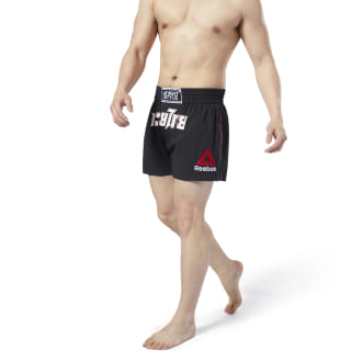 Combat x InFightStyle Tech Thai Shorts Black EB4624