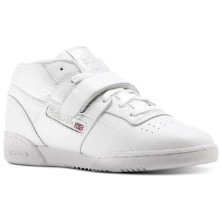 Кроссовки Workout Clean Mid Strap MU CLEAN-WHITE/STEEL CN3915