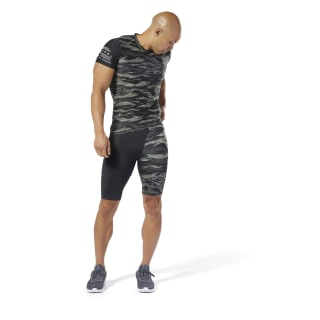 Short de compression Reebok CrossFit® Hunter Green DP4565
