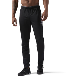 Calça Workout Ready Stacked Logo Trackster  BLACK/BLACK CW5031