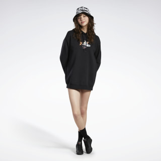 Sukienka Tom and Jerry Hooded Black GJ0467