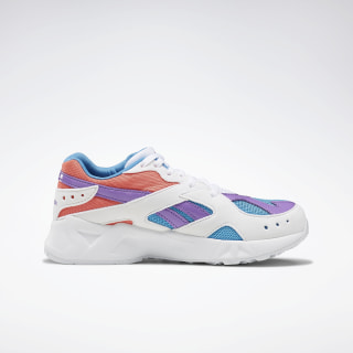 Aztrek Shoes White / Cyan / Rosette DV9490