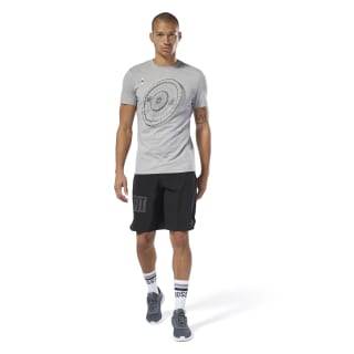 Reebok CrossFit® Science Weight Tee Medium Grey Heather DT2821