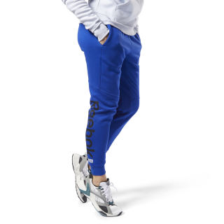 Pantaloni Training Essentials Linear Logo Cobalt EK1354