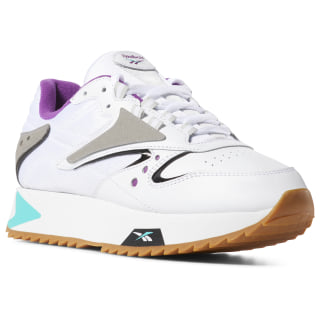 Classic Leather ATI 90s Women's Shoes White / Teal / Aubergine / Blk DV5376