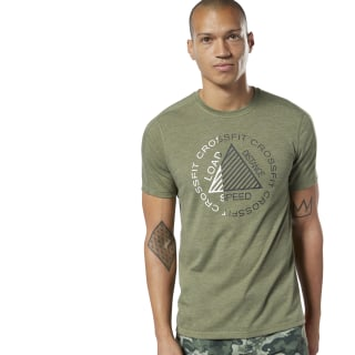 T-shirt Reebok CrossFit® Move Canopy Green Mel DY8431