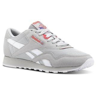 Tenis F Classic Leather Nylon M Txt RETRO-SKULL GREY/NEON CHERRY/ULTIMA PRPLE/WHT CN2965