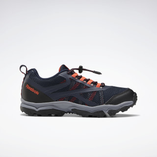 Reebok Rugged Runner Shoes Collegiate Navy / Vivid Orange / Cold Grey 5 EF6581