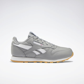 Classic Leather - Pre-School Grey / WHITE DV9611