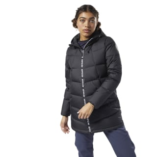 Outdoor Mid Weight Down Jacket Black EJ8336