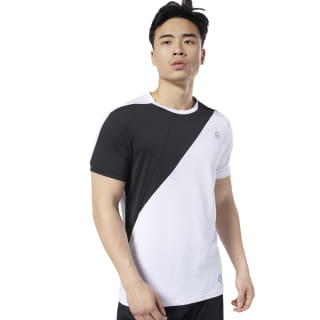 LES MILLS® Blocked Tee White ED0575