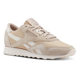 Tenis Classic Leather NYLON SEASONAL-BARE BEIGE/PALE PINK CN2888
