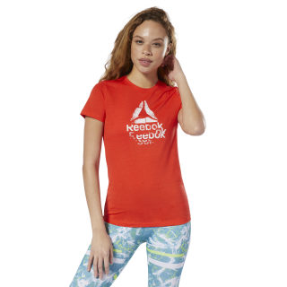 Playera Estampada Gs Texture Logo Crew canton red DU4669