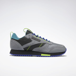 Кроссовки Reebok Classic Leather Ripple Trail true grey 5/true grey 8/mineral mist EG8706