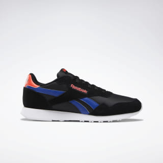 Reebok Royal Ultra Shoes Black / Cobalt / Neon Red / White DV8826