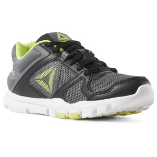 YOURFLEX TRAIN 10 Black / Alloy / Neon Lime CN8603