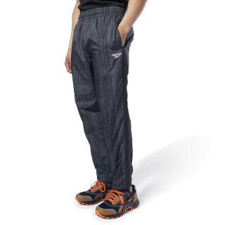 Pantaloni Classics Vector Plaid Black EC4614