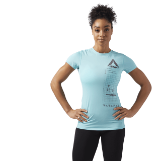 ACTIVCHILL Graphic T-Shirt Turquoise CF5948