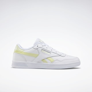 Reebok Royal Techque T LX Shoes White / Lemon Glow / White EF7483