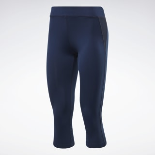 Mallas pirata Workout Ready Collegiate Navy FQ0396