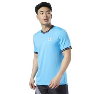 T-shirt Classics Advance Bright Cyan EA3576