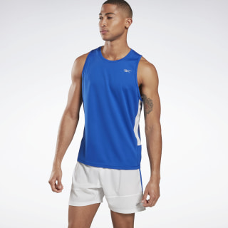 Playera sin mangas Running Essentials Speedwick Humble Blue FJ2917