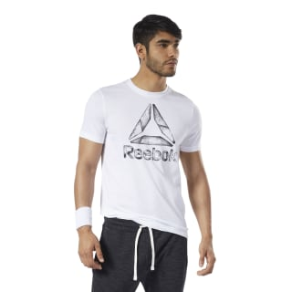 T-shirt One Series Training Black Ice White EC2076