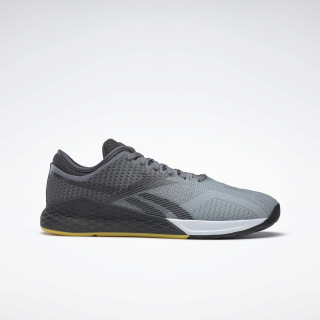 Nano 9.0 Shoes Cold Grey 4 / Cold Grey 7 / Toxic Yellow FU9372