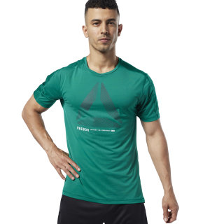 Remera One Series Training ACTIVCHILL Move Clover Green DY8019