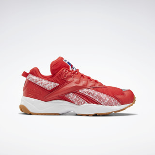 Кроссовки INTV 96 White / Radiant Red / Reebok Rubber Gum-08 FV5472
