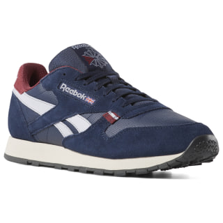 Classic Leather Navy / Red / Stucco / Grey CN7178