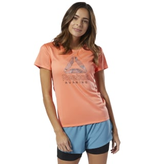 Running Essentials Delta Graphic Tee Stellar Pink DU4265