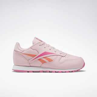 Classic Leather Shoes - Preschool Polished Pink / White / Polished Pink EF8642