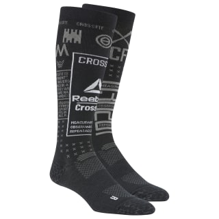 CrossFit® Compression Knee Socks Black DU2956