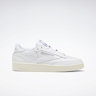 Club C 85 Shoes White / Silver Metallic / Pure Grey 3 EF7884
