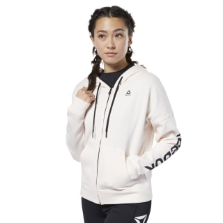 Training Essentials Full Zip Sweatshirt Pale Pink FI2005