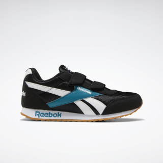 Reebok Royal Classic Jogger 2.0 Shoes Black / Seaport Teal / White EF3717