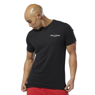 Camiseta M Crssft Time To Burn Black DP6221