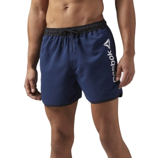 Short de bain Beachwear Retro Collegiate Navy CW8837
