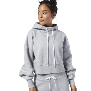 Studio Fashion Hoodie Medium Grey Heather EB8080