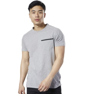 Camiseta Move Training Supply Medium Grey Heather EC0726
