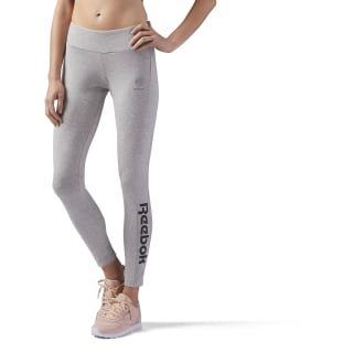 Essential Jersey Legging Medium Grey Heather CE2285