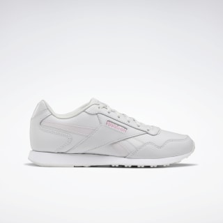 Reebok Royal Glide LX Shoes Porcelain / Pixel Pink / White EF7303