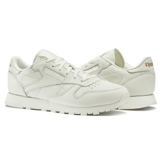 Classic Leather FBT Suede White/Rose Gold BS6591