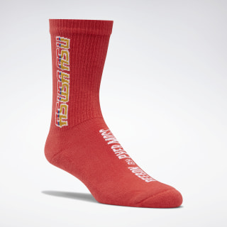 Reebok by Pyer Moss Crew Socks Rebel Red FS9131