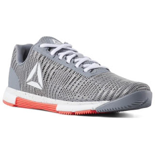 Speed TR Flexweave® Shoes Cold Grey / White / Neon Red DV4408