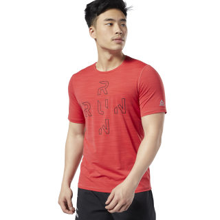 One Series Running ACTIVCHILL Tee Rebel Red EC6323