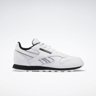Buty Classic Leather White / White / Silver Metallic EH1961